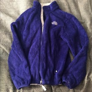 Purple women's north face
